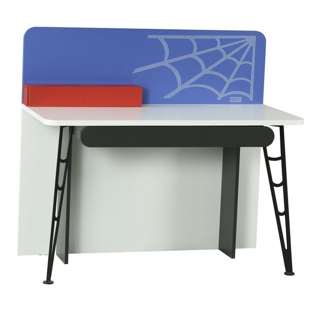 Comforium Bureau Enfant 128 Cm Design Spiderman Marvel Coloris