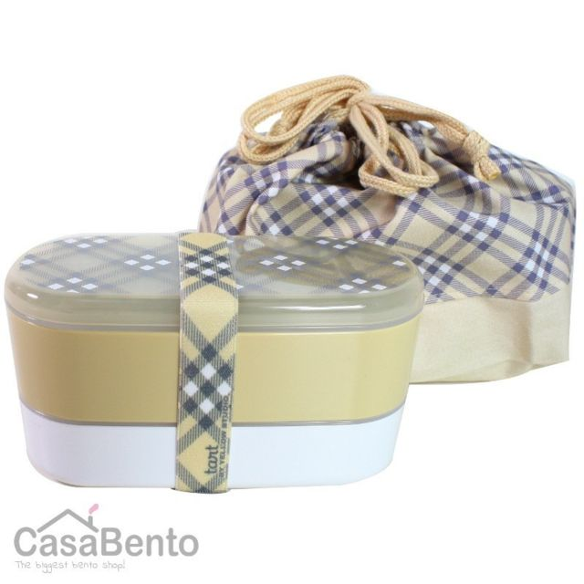 Casabento Bento Tart + Sac - Jaune