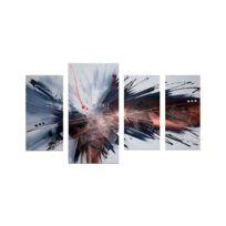 Deco Soon - Tableau Peinture Explosion de saveur