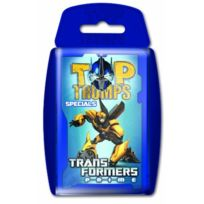 Winning Moves - TRANSFORMERS Prime Top Trumps ALLEMAND