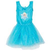 Betoys - Robe reine des neiges bleue 3/4 ans