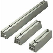 C.B.M - Support de sol blanc pour goulotte de climatisation - 450mm - La paire