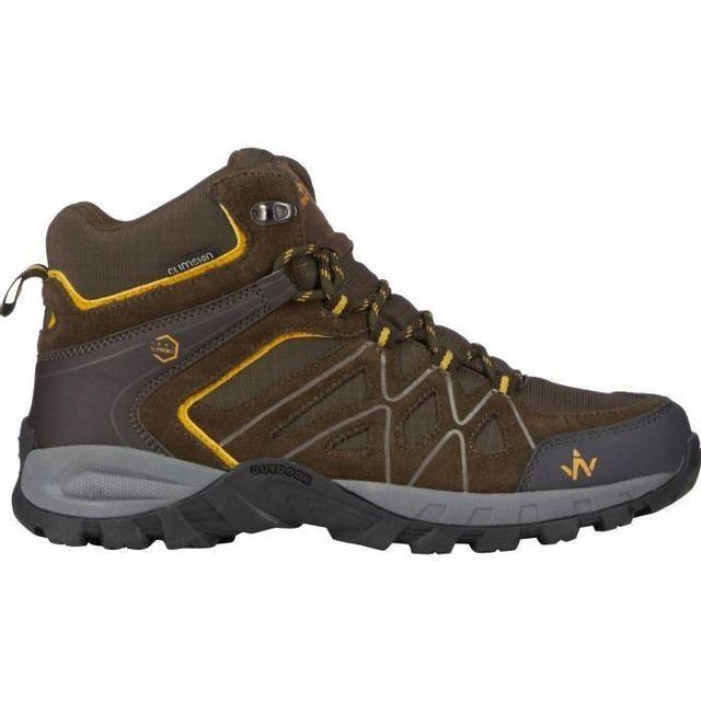 Wanabee Chaussures de randonnée Trek 300 Mid Cs Marron