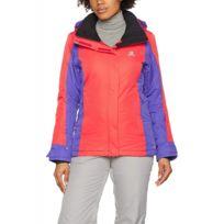 Stormspotter Femme Veste Multicouleur Bleu Imperméable Ski Rouge M E9DH2I