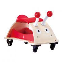 Autre - Jeu d'imitation enfant jeux jouets Draisienne à 4 roues coccinelle 0102042