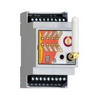 Iqtronic - Boitier Rail-DIN pilotable par Gsm et Bluetooth avec détection de coupure de courant Iqconbox mobile