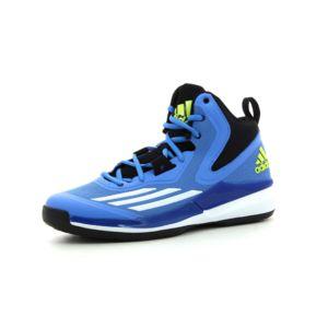 Adidas performance - Chaussures de basket Title Run Bleu - 46 2/3