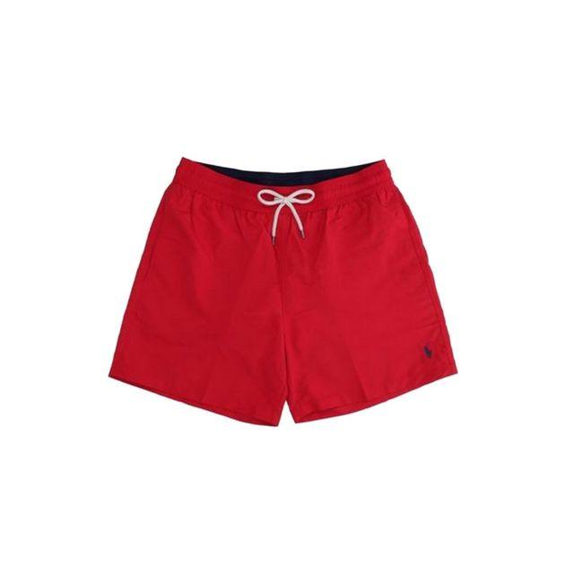 Polo Ralph Lauren - Short De Bain Traveler Rouge - XL - pas cher Achat    Vente Short de bain, boardshort - RueDuCommerce 00ab41328f6