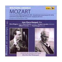 Horizon - Concerto pour flûte, harpe et orchestre K299