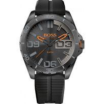Hugo Boss Orange - Montre Boss Orange Berlin 1513452 - Montre Noire Silicone Homme