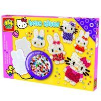 Ses Creative - Boite de 2400 perles Technique à repasser : Hello Kitty 2400 perles