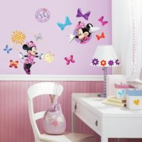 Babyland - Stickers Disney Minnie Roommates Repositionnables 33 stickers