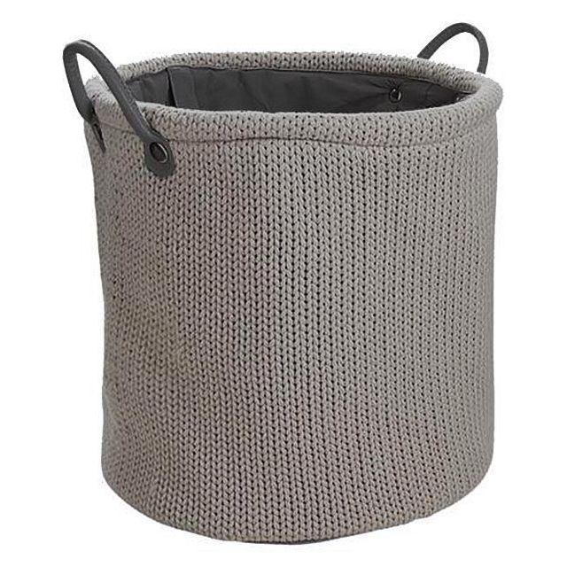 2787296fcdb1 AUBRY GASPARD - Corbeille à linge en laine doublure polyester - pas ...