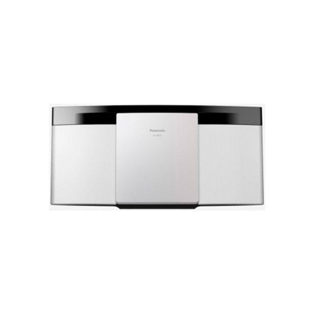 panasonic mini hifi schc200egw hifi bluetooth 20w blanc. Black Bedroom Furniture Sets. Home Design Ideas