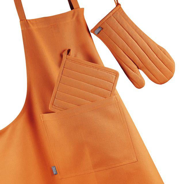 Winkler Tablier Enfant Trend Orange Brule 52 X 63