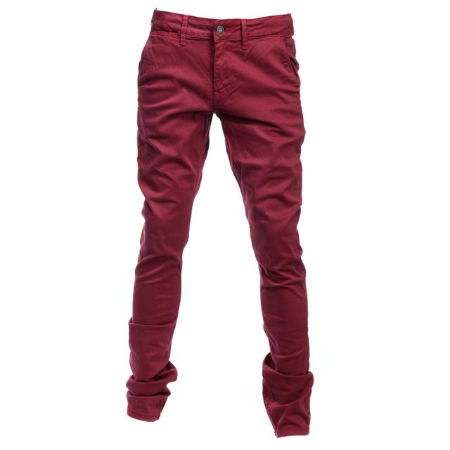 8ce912f59f9d9 Pepe Jeans - Jeans Enfant Blueburn Chino 297 Merlot - pas cher Achat ...