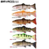 Savage Gear - Leurre 3D Trout Line Thru Swim Bait 20 Cm