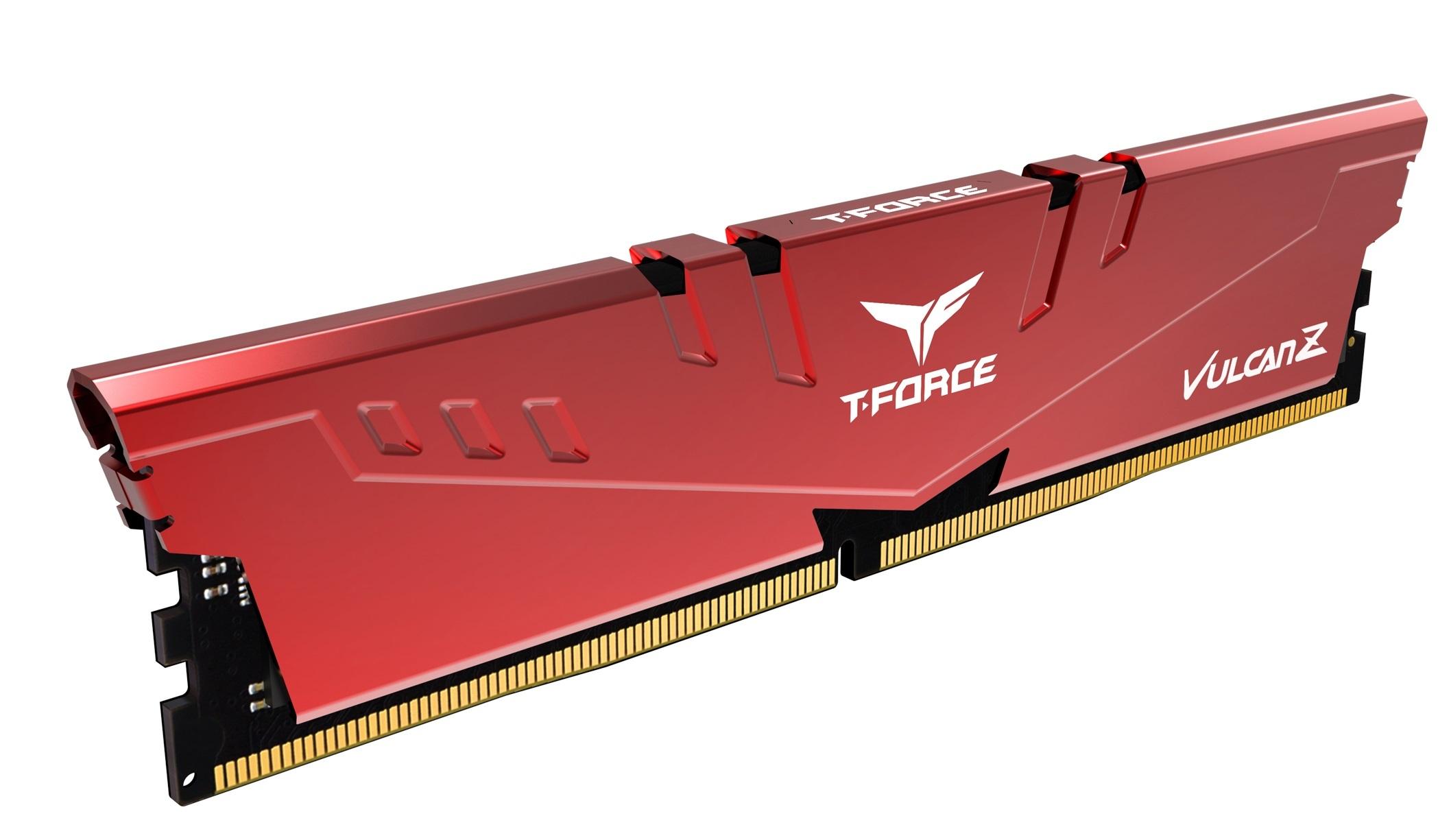 Vulcan Z - 2 x 8 Go - DDR4 3200 MHz - Rouge