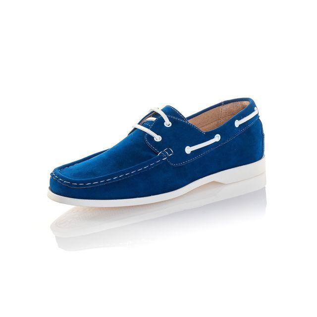 Roi Bateau Bleu Homme Reservoir Effet Pas Shoes Chaussure Daim y8PvmN0nwO