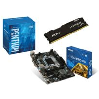 RUE DU COMMERCE - Kit EVO INTEL Office I - INTEL Pentium G4400 - MSI H110M PRO-VD - 4 Go DDR4 KINGSTON