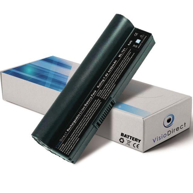 visiodirect batterie pour ordinateur portable asus eee pc 4g 4g surf 4g x 8g 12g 20g coloris. Black Bedroom Furniture Sets. Home Design Ideas