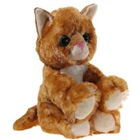 Heunec - 2045393 - Peluche - Glitter-kitty - Chaton Or - 20 Cm