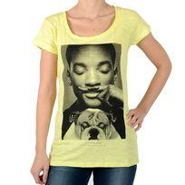 Eleven Paris - Tee Shirt Wolly W Will Smith Jaune Lemongrass