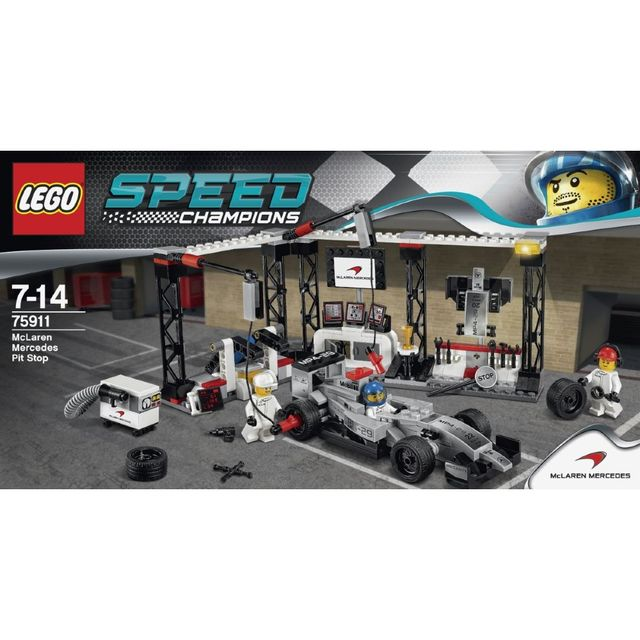 on feet images of factory outlets sale uk Speed Champions - L'arrêt au stand McLaren Mercedes - 75911