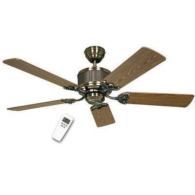 boutica design ventilateur de plafond eco elements 132cm laiton ch ne h tre casafan pas. Black Bedroom Furniture Sets. Home Design Ideas