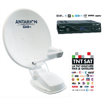 Antarion - Kit Antenne satellite Automatique 85 cm G6