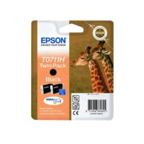 EPSON - Pack de 2 cartouches HC d'encre Noire GIRAFE - T0711HC