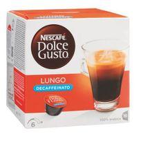 Dolce Gusto - Café Nescafé Café Lungo décaffeinato dosette pour - Boîte de 16