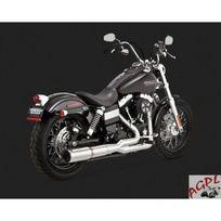 Honda - Harley Davidson Fxd-06/16-SILENCIEUX Echappement Vance Hines Stainless Hi Output 2/1 Chrome-1800-1555