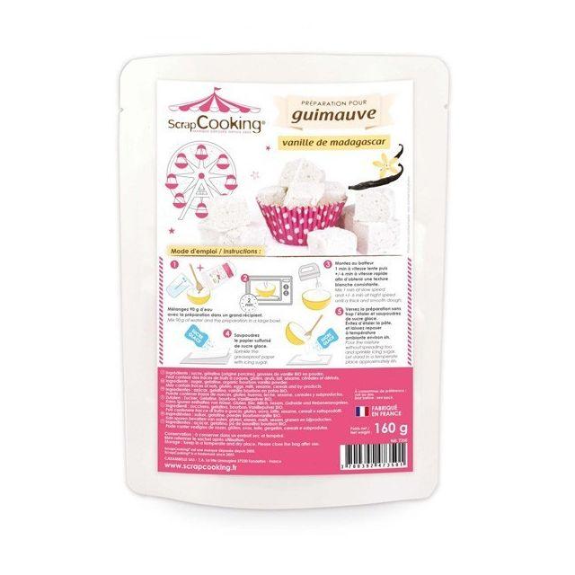Scrapcooking Préparation guimauve - arôme vanille