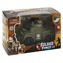 Chap Mei - Véhicule d'attaque Soldier Force Viii et figurines