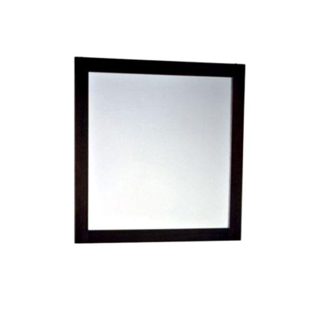 Evidence Miroir 80 x 80 cm cadre wengé Ipeca