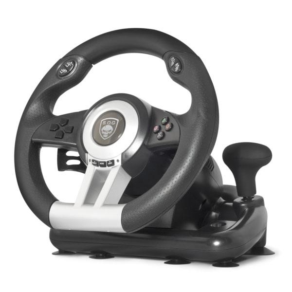 spirit of gamer race pro wheel volant pc ps2 ps3 pas cher achat vente volant pc. Black Bedroom Furniture Sets. Home Design Ideas