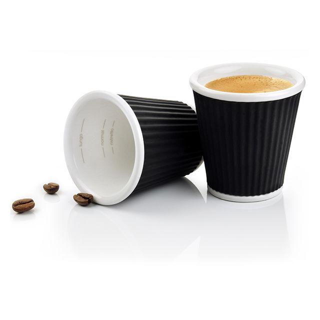 les artistes paris lot de 2 tasse caf 10cl noir a 0621 pas cher achat vente tasse. Black Bedroom Furniture Sets. Home Design Ideas