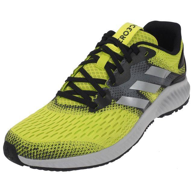 9697775e333 Adidas - Chaussures running Aerobounce m running Jaune 74904 - pas cher  Achat   Vente Chaussures running - RueDuCommerce