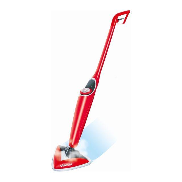 VILEDA Balai nettoyant pulvérisateur 100° HOT SPRAY - Rouge
