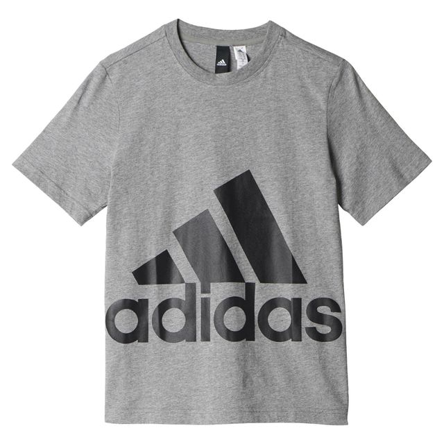 ecf6bf5b8ebdd Adidas - T-shirt Essentials Big Logo - pas cher Achat   Vente Tee ...