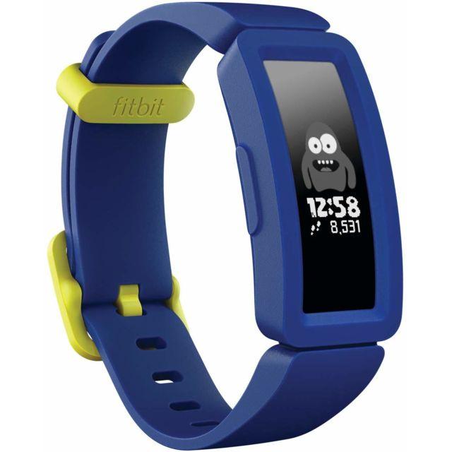 Fitbit Moniteur d'activité Ace 2 pour enfants avec incitatifs amusants, batterie de 4 jours et plus et résistant à la natation
