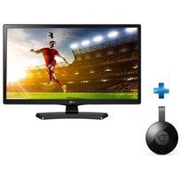 LG - 28MT48DF-PZ + Clé GOOGLE Chromecast V3