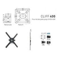 ERARD - Support Mural Ecran plat Fixe CLIFF 400
