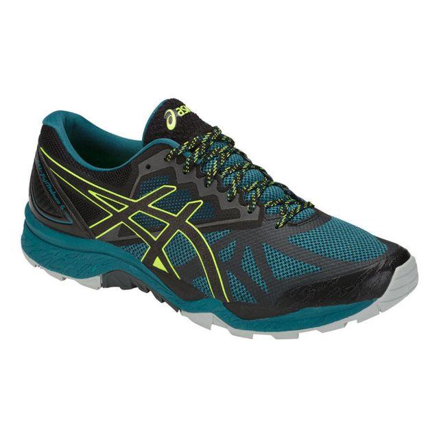 61f4a6d2f493dc Asics - Gel Fuji Trabuco 6 Bleue Chaussures de trail - pas cher Achat / Vente  Chaussures trail - RueDuCommerce
