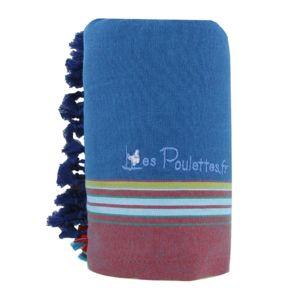 les poulettes bijoux kikoy serviette plage coton couleur bleu p trole eponge turquoise 150cm x. Black Bedroom Furniture Sets. Home Design Ideas
