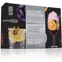 MOLECULE-R - Cocktail moléculaire gin tonic r-evolution Gin tonic