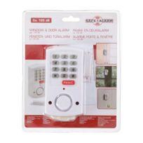 Marque Generique - Safe Alarm Détecteur d'ouverture porte et fenetre - Avec bouton Panic
