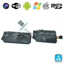 Yonis - Caméra miniature Wifi Point to Point surveillance Android iPhone 4 Go