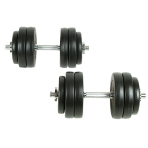 Vidaxl - Kit haltères 30 kg